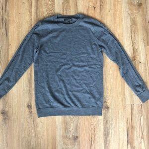 Dark Grey Banana republic Marino wool sweater
